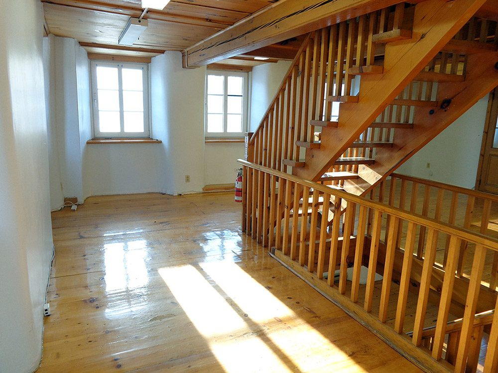 Vue de l'étage (2 de 2)
